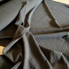 Grey light wool fabric  remnant 120x155cm