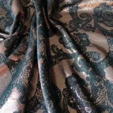 Bronze Viscose Jacquard Gucci  Floral pattern