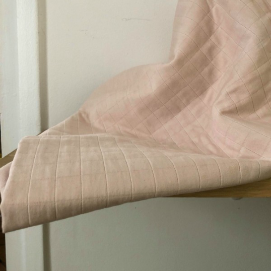 Quilted Cotton Taiyo Pink Nude