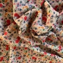 Powder Viscose jersey fabric Small Flowers