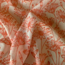 Cotton and Silk Tilly Orange