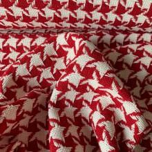 Wool Tweed Pied de poule