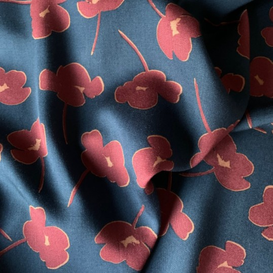 Viscose Pansies
