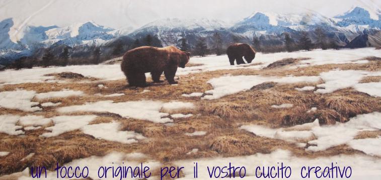 orsi sulle montagne