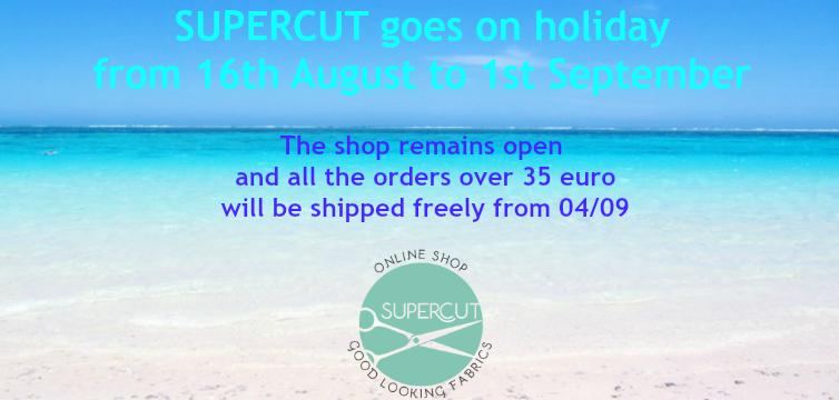 SUPERCUT GOES ON HOLIDAY