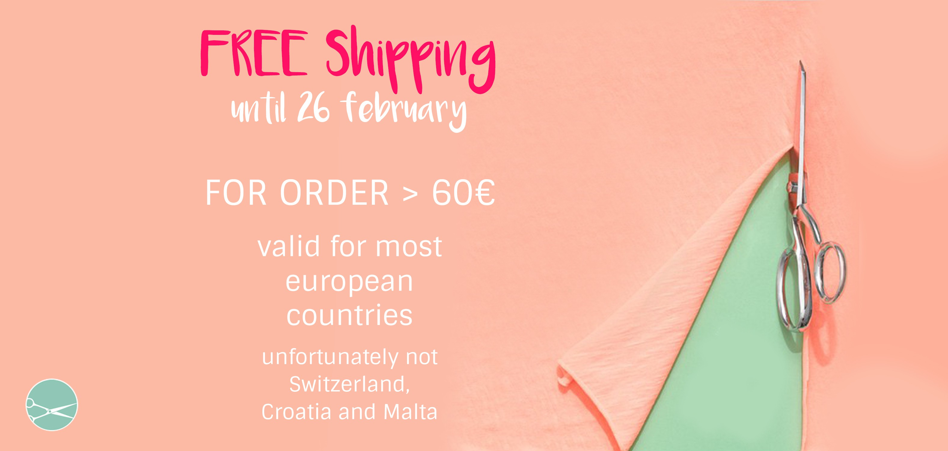 free shipping until 26 february