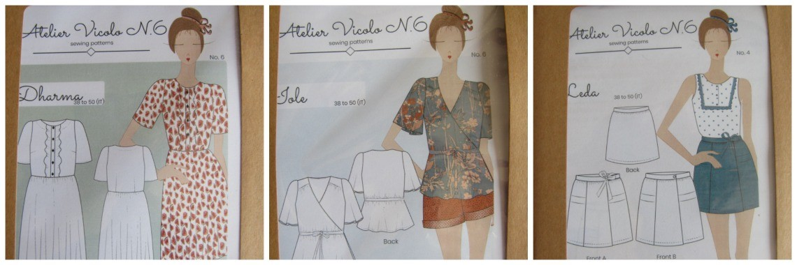 sewing patterns atelier vicolo n6