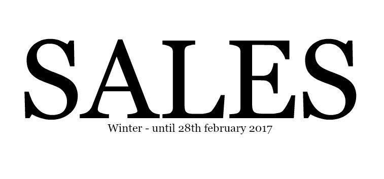 Winter sales up to 60% discount