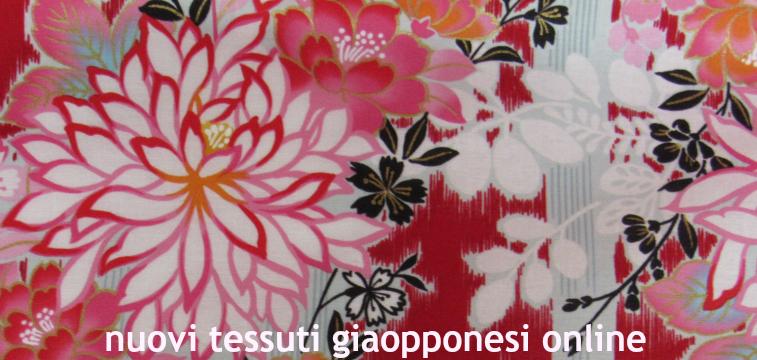 nuovi tessuti giapponesi online