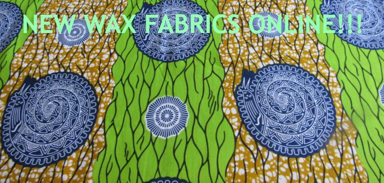 new wax fabrics online