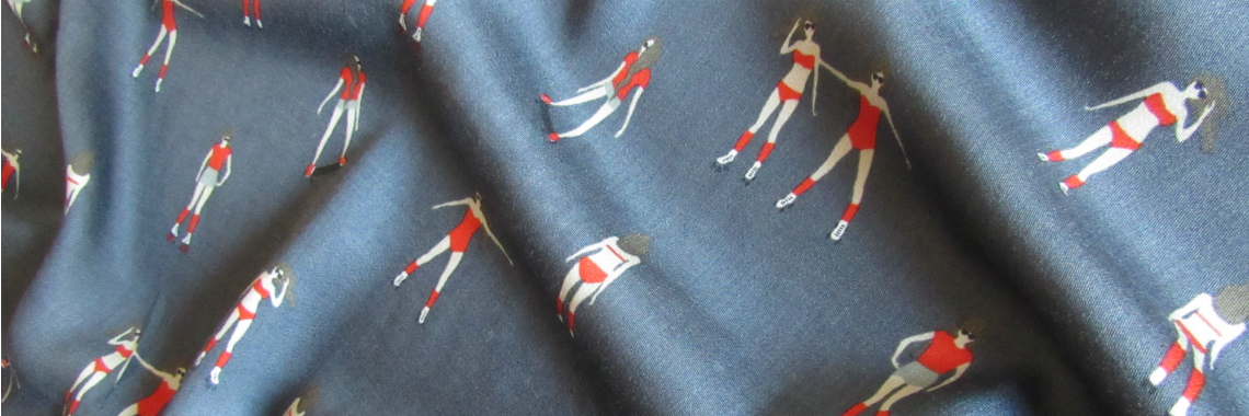 Viscose fabric Rollerdisco